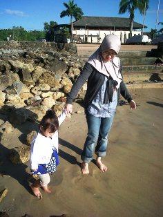 Main ke pantai mini Aquatic