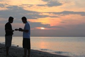 Fuad dan mas Yuli saat sunrise